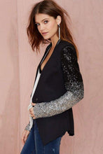 Load image into Gallery viewer, Sequin Decor Slimming Blazer - Arona XO