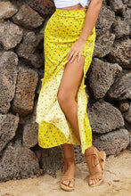 Load image into Gallery viewer, Yellow Floral Maxi Skirt - Arona XO