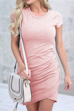 Load image into Gallery viewer, Pink Shirt Dress - Arona XO