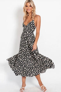 Sleeveless Midi Boho Dress - Arona XO