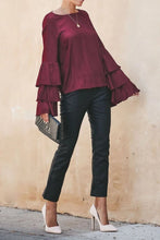 Load image into Gallery viewer, Flare Sleeve Blouse - Arona XO