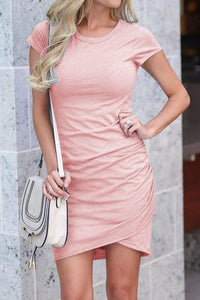 Pink Shirt Dress - Arona XO