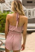 Load image into Gallery viewer, Sleeveless Polka Dot Romper - Arona XO
