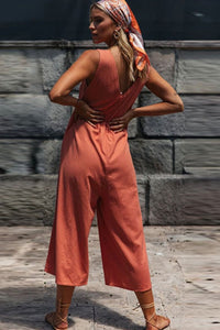Loose Wide Leg Jumpsuit - Arona XO