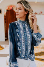 Load image into Gallery viewer, Long Sleeve Peasant Blouse - Arona XO