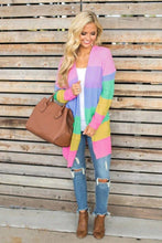 Load image into Gallery viewer, Long Sleeve Rainbow Cardigan - Arona XO