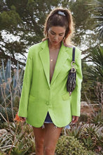 Load image into Gallery viewer, Oversize Neon Blazer - Arona XO