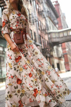 Load image into Gallery viewer, Floral Print Maxi Boho Dress - Arona XO