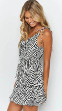 Load image into Gallery viewer, Zebra Print Mini Sundress