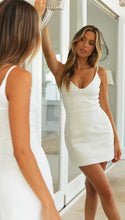 Load image into Gallery viewer, V Neck Bodycon Mini Sundress - Arona XO