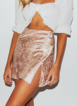 Load image into Gallery viewer, Jacquard Side-slit Skirt - Arona XO