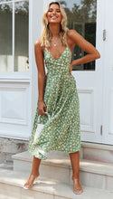 Load image into Gallery viewer, Sleeveless Midi Boho Dress - Arona XO