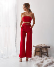 Load image into Gallery viewer, Off-the-Shoulder Jumpsuit - Arona XO