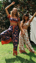 Load image into Gallery viewer, Boho Crop Top & Wide Leg Trousers Set - Arona XO