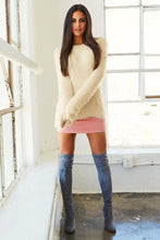 Load image into Gallery viewer, Round Collar Long Sleeve Sweater - Arona XO