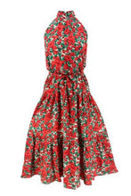 Load image into Gallery viewer, Floral Halter Neck Maxi Dress - Arona XO