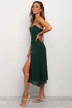 Load image into Gallery viewer, Low-cut Slip Midi Dress - Arona XO