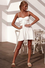 Load image into Gallery viewer, Sling Crease Mini Dress - Arona XO