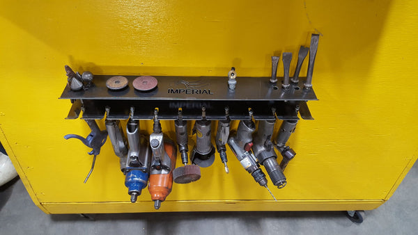 air tool storage rack solution