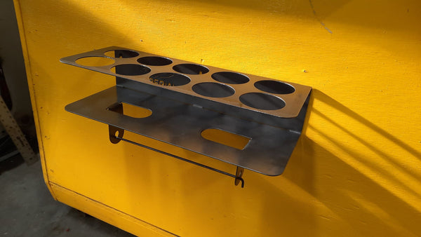 imperial tool storage can holder metal shaping fabrication