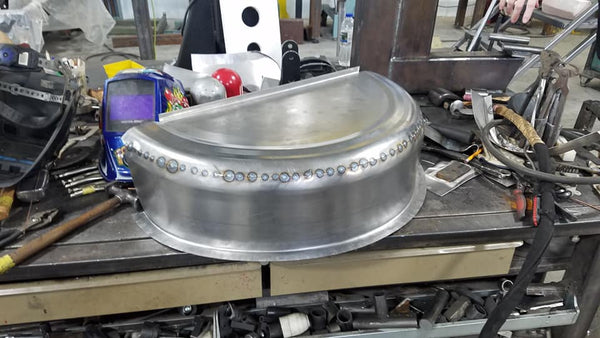 metal shaping class english wheel fabrication tools