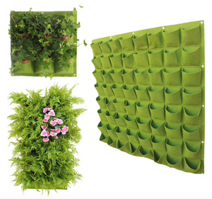G.E.T Wall Hanging Plant Grow Bag