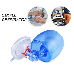 2020 Simple Self-help Manual Resuscitator Oxygen Tube First Aid kit Oxygen Tube and Reservoir Bag PVC Bag and Transparent Mask