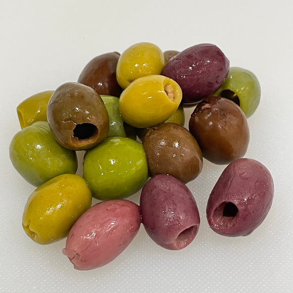 Five Italian Olive Mix (Pitted) (8 oz)
