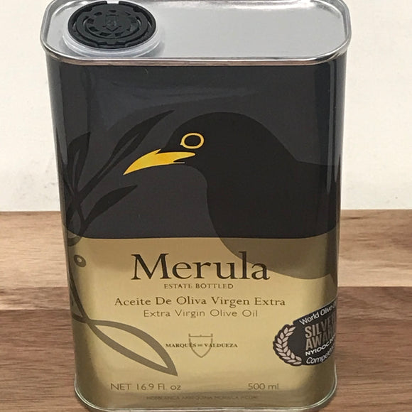 Merula Single Estate Extra Virgin Olive Oil (16.9 fl oz)
