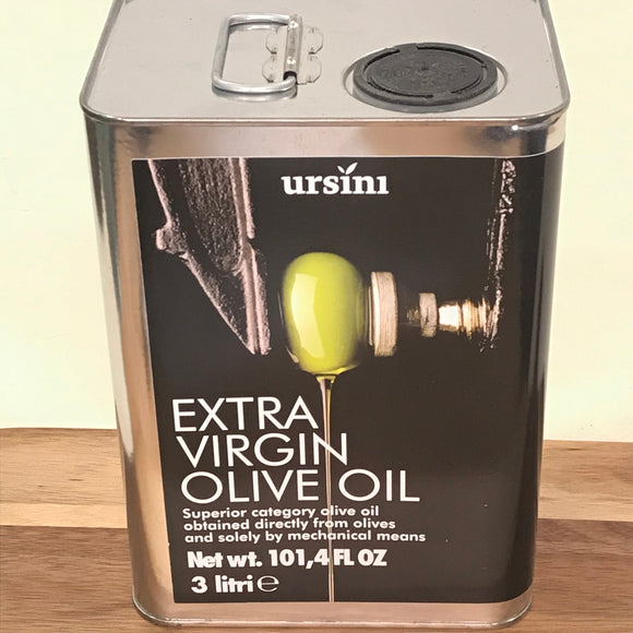 Ursini Extra Virgin Olive Oil (3 L)