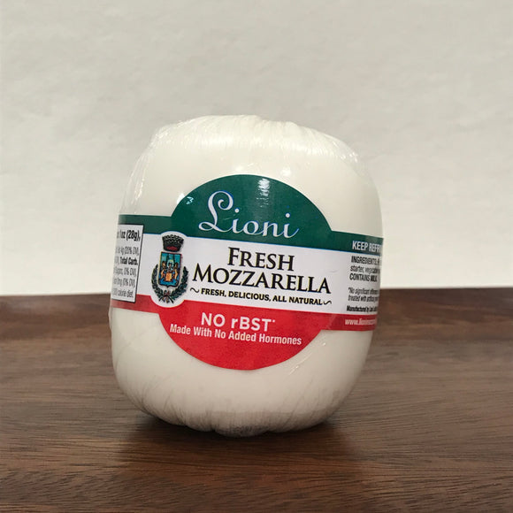 Lioni Hand Wrapped Fresh Mozzarella Ball (8 oz)