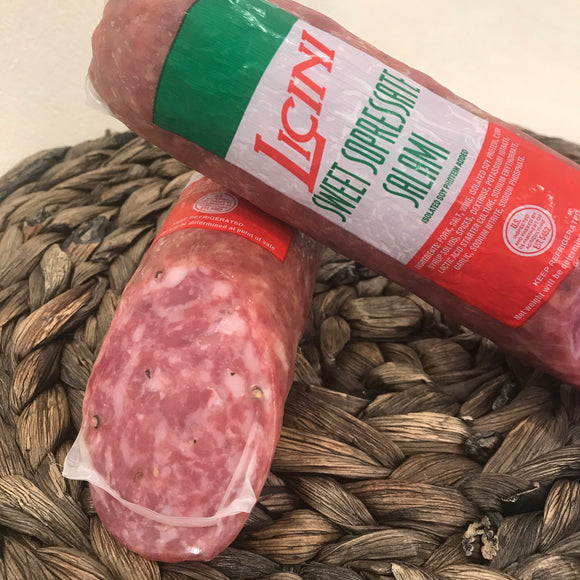 Licini Sweet Soppressata (11 oz)