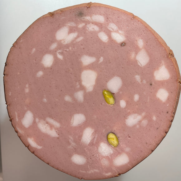Sliced - Leoncini Mortadella with Pistachio (7 oz)
