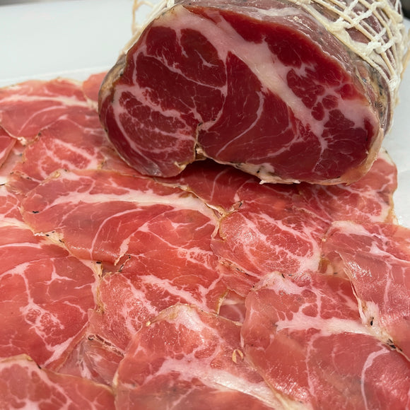 Sliced - Salumeria Biellese Mild Coppa (4 oz)