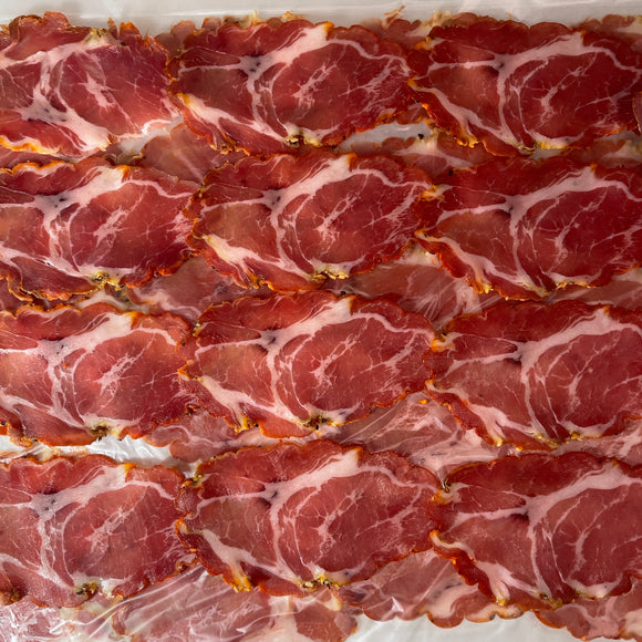 Sliced - Salumeria Biellese Hot Coppa (4 oz)