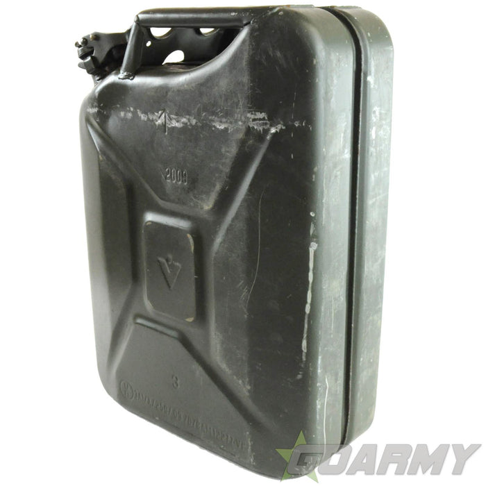 British Army 20L Steel Petrol Jerry Can