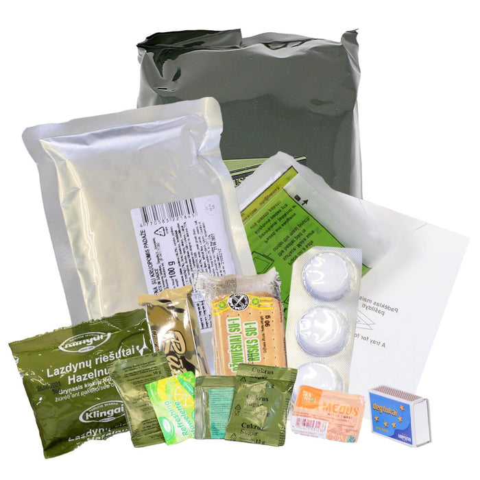 Lithuanian Army Ration Pack 12hr