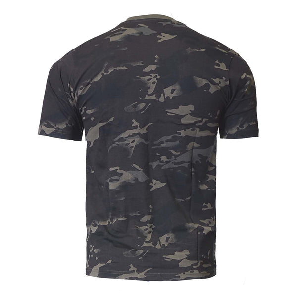 Black Multicam Tshirt