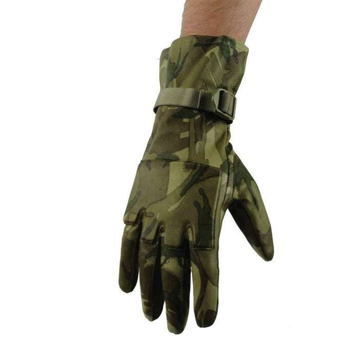 British Army MTP Leather Tactical Gloves