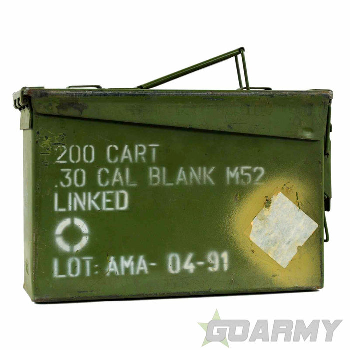 U.S Army .30 Cal Steel Ammunition Box