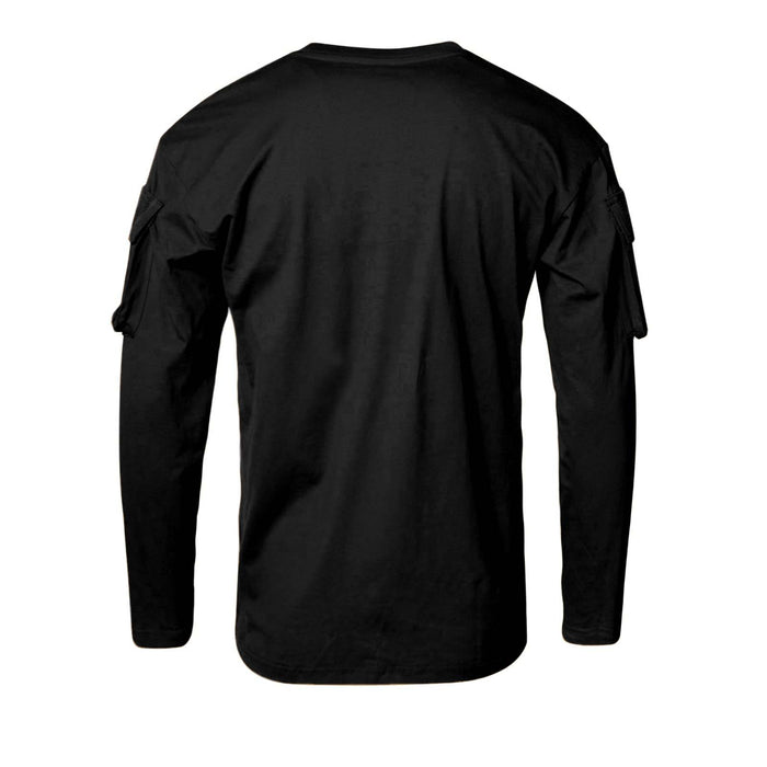 U.S Style Long Sleeve T-Shirt Black