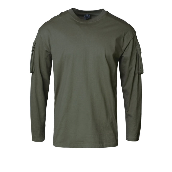 U.S Style Long Sleeve T-Shirt Olive