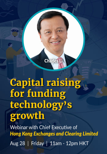Webinar with Charles Li, CEO of HKEX