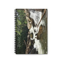 Load image into Gallery viewer, ROUTE 9 FALLS Spiral Notebook