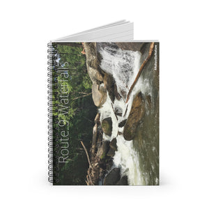 ROUTE 9 FALLS Spiral Notebook