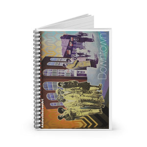 """THE BLOCK"" Spiral Notebook"