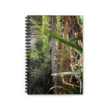 Load image into Gallery viewer, N.C. ARBORETUM Spiral Notebook