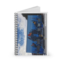 "Load image into Gallery viewer, ""THE ARTS COUNCIL"" Spiral Notebook"
