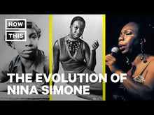 Load and play video in Gallery viewer, Not only was Nina Simone one of the greatest contributors to Black history through her music, she was also as champion for the civil rights movement.