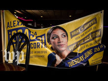 Load and play video in Gallery viewer, Alexandria Ocasio-Cortez ousted 10-term incumbent Rep. Joseph Crowley (D-N.Y.) on June 26.